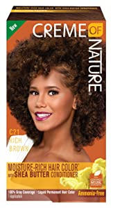 Creme Of Nature Color C21 Rich Brown Kit (2 Pack)