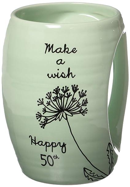 Amazon com | Pavilion - Make a Wish - Happy 50th Birthday - Green