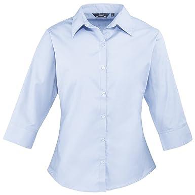 42089be9b Premier Fitness Women's Premier Poplin Blouse: Amazon.co.uk: Clothing