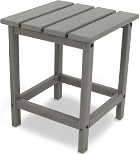 product image for POLYWOOD ECT18GY Long Island Side Table, 18-Inch, Slate Grey
