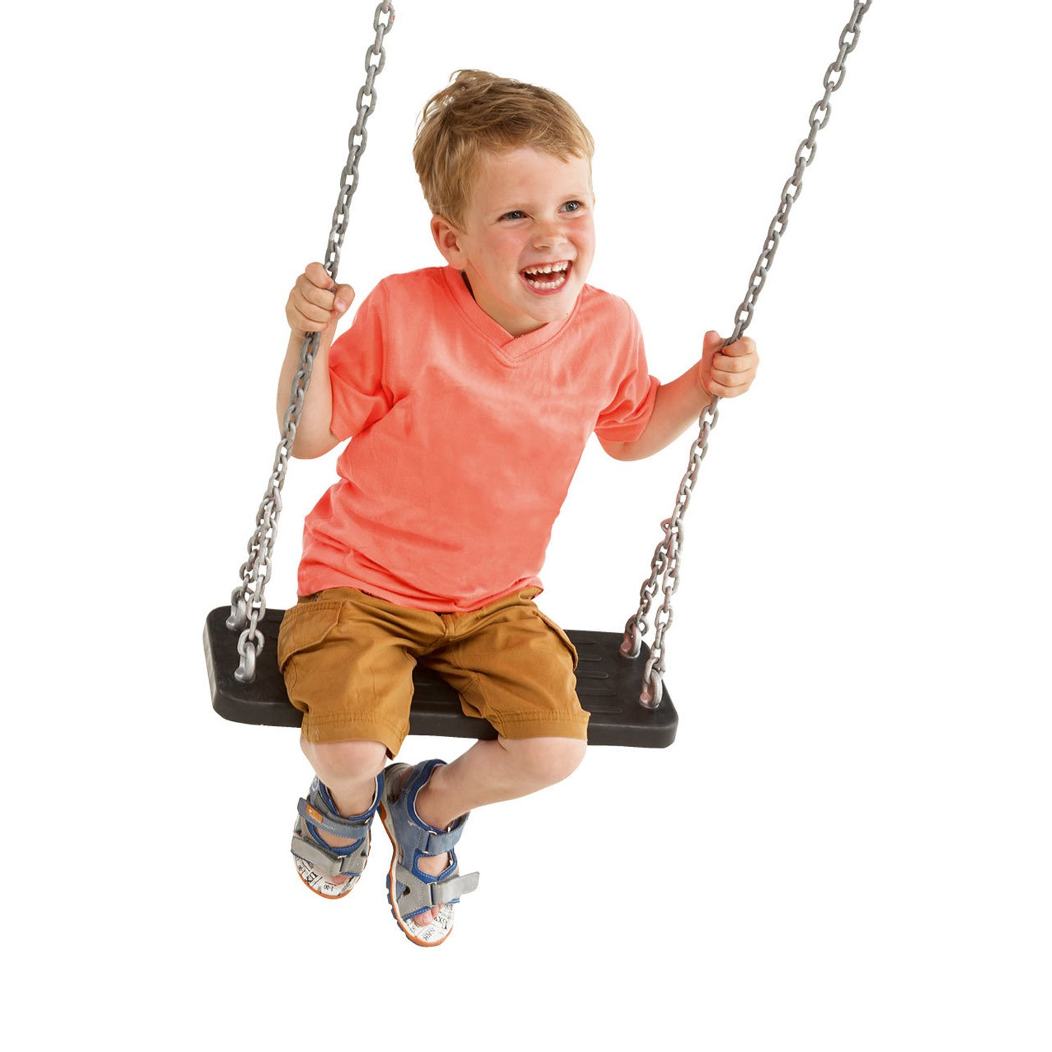 Garden Games Rubber Swing Seat with Steel Chains