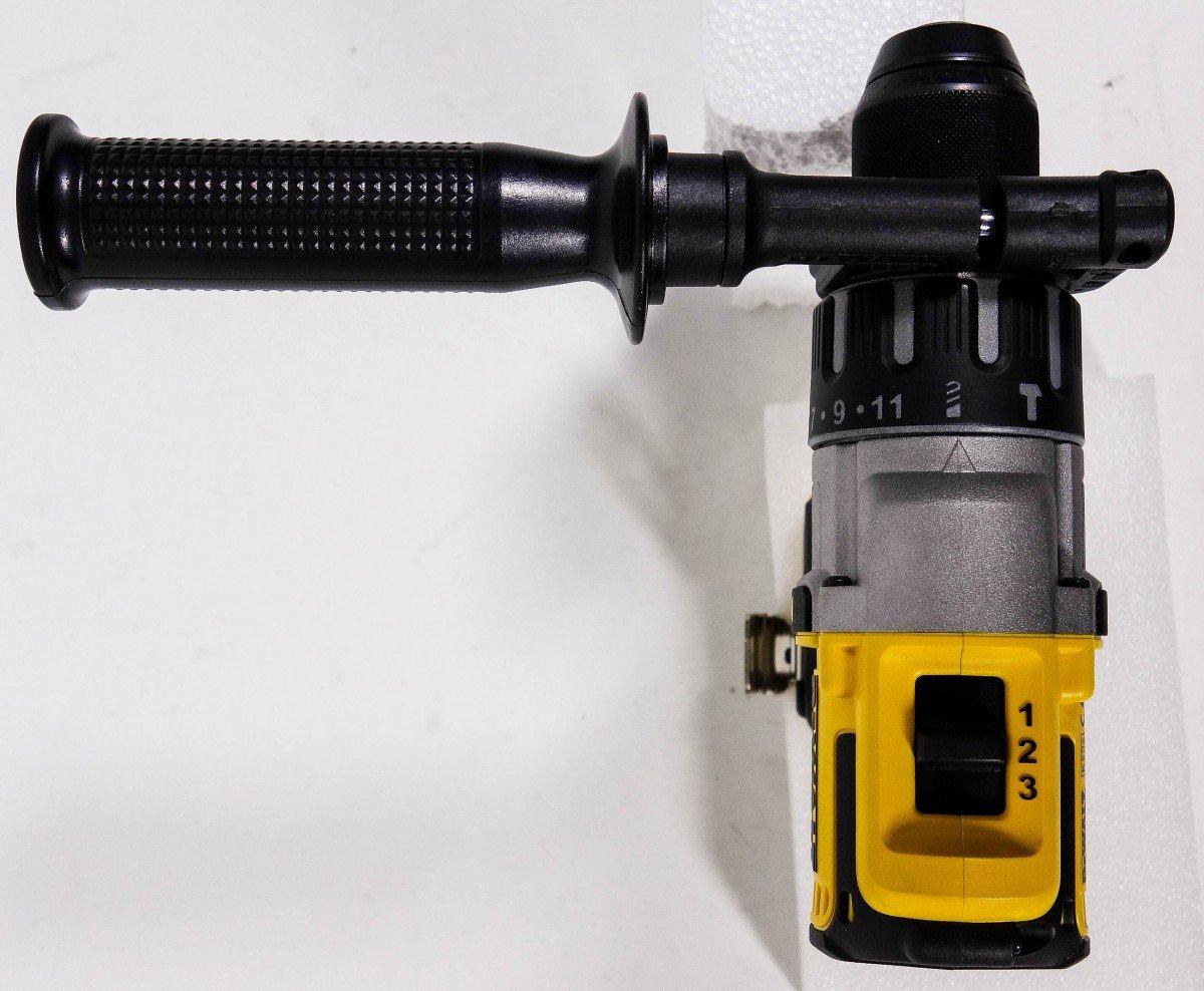 sin accesorios sin bater/ía 3/niveles sin escobillas 18/V Taladro percutor de bater/ía bater/ía de ion de litio sin cargador DeWalt DCD 996/N