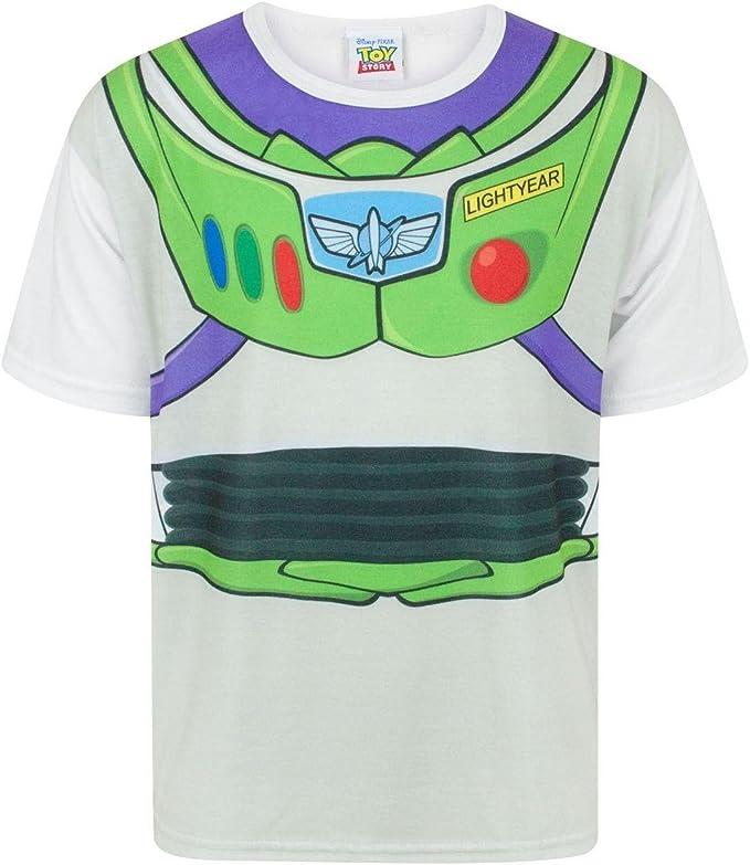 Toy Story Disney - Camiseta Disfraz de Buzz Lightyear Personaje ...