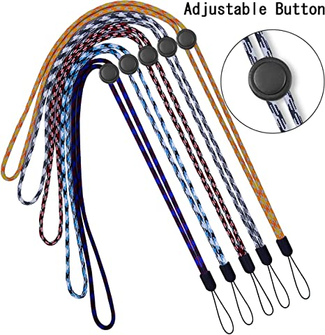 Amazon.com: YOUOWO - 5 cordones ajustables para llaves ...