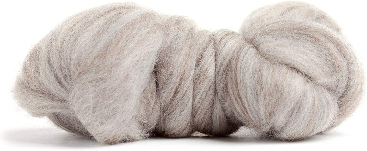 21 Micron Color Pink 100/% Pure Wool Merino Wool Roving Made in The UK Premium Combed Top Perfect for Felting Projects