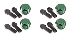 Flow Security Systems | Faucet Lock II | Magnetic Key | Keyed The Same | Prevents Water Theft & Secures Outdoor Taps | Promotes Water Conservation | Fits Most Outdoor Hose Bibbs | FSS 500 | 4 Pack