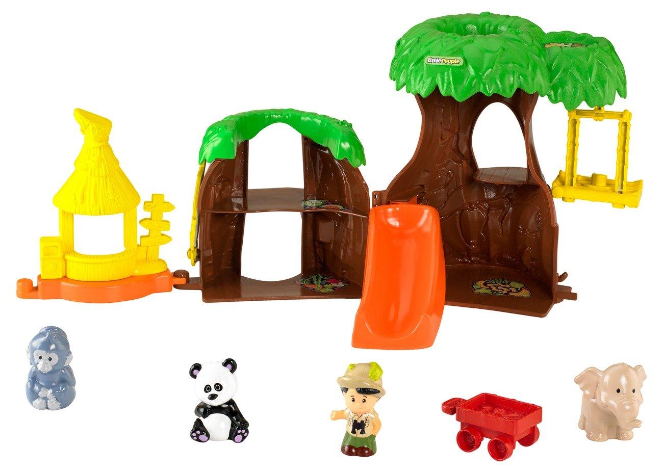Wonderful Little People Fairy Treehouse Part - 5: Amazon.com