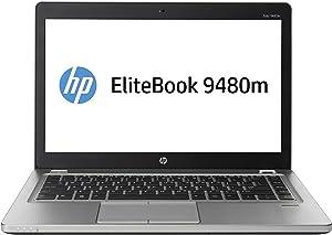"HP EliteBook Folio 9480m 14"" LED Ultrabook - Intel Core i7 i7-4600U Dual-core (2 Core) 2.10 GHz - Platinum J5P80UT#ABA"