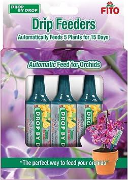 Fito 2044393 Cônes d'arrosage « Drip Feeder » pour orchidées - Bleu - 160 ml