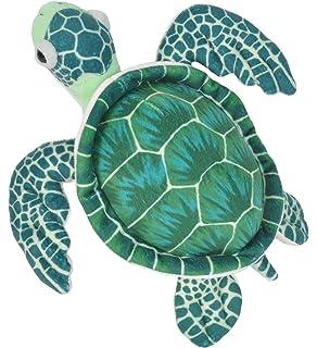 Wild Republic-22460 Peluche Tortuga Cuddlekins, Color Verde, 20 cm (22460)