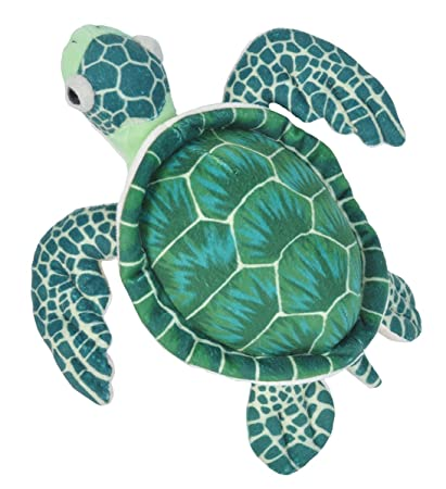 Amazon Com Wild Republic Sea Turtle Plush Stuffed Animal Plush