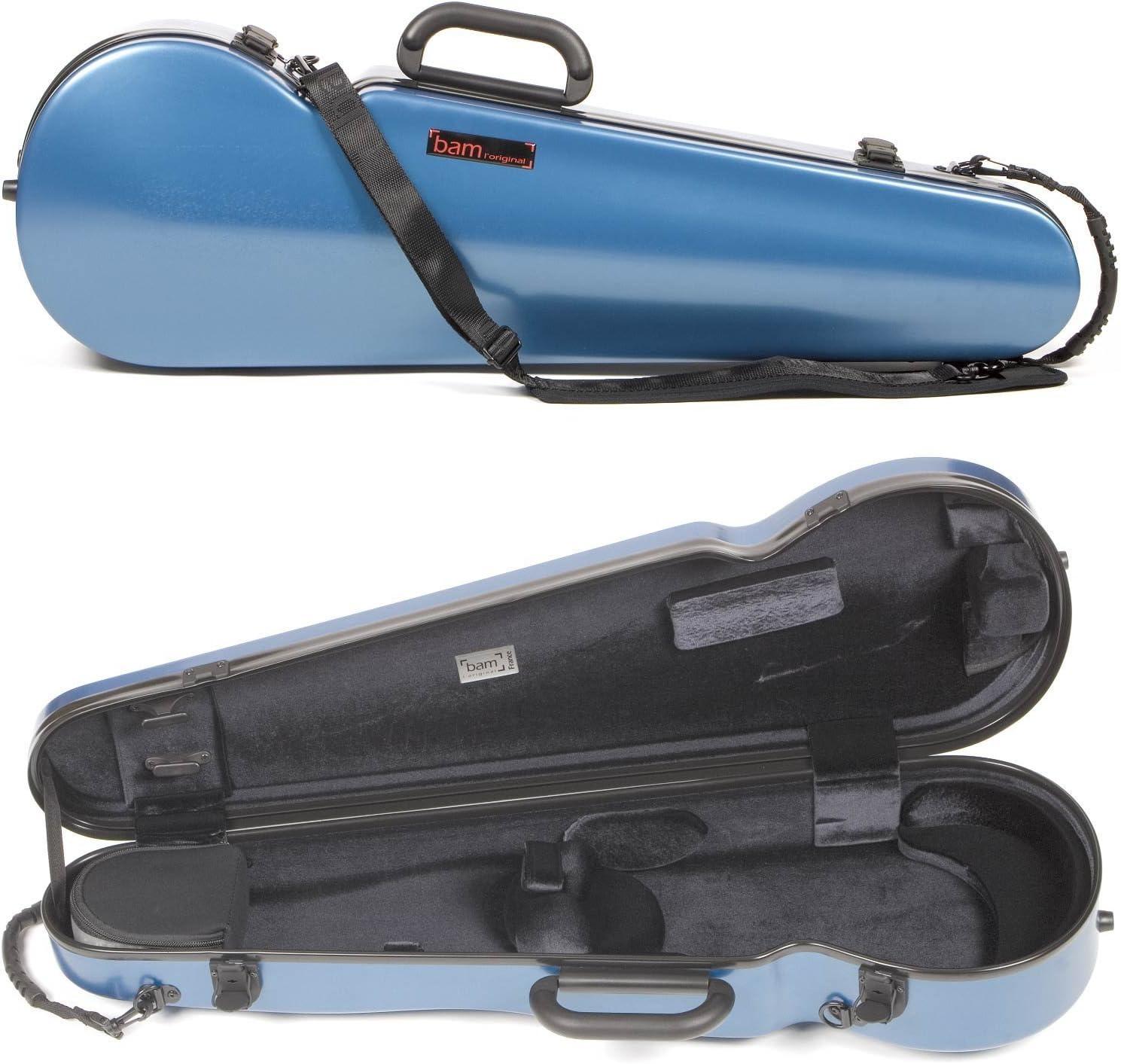 Bam Francia 2002 X L contorneada Hightech 4/4 funda para violín, Tweed Look: Amazon.es: Instrumentos musicales