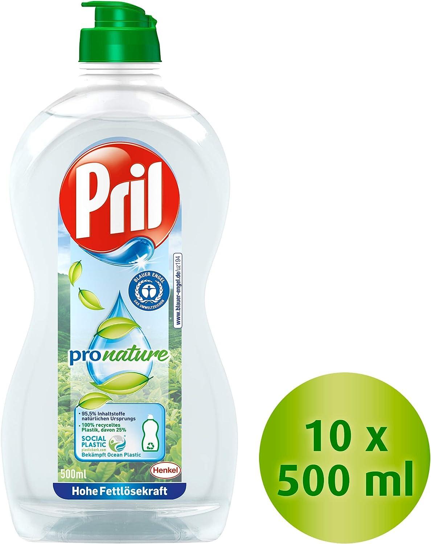 Pril Pro calendula sensitiva natural, detergente lavavajillas de ...