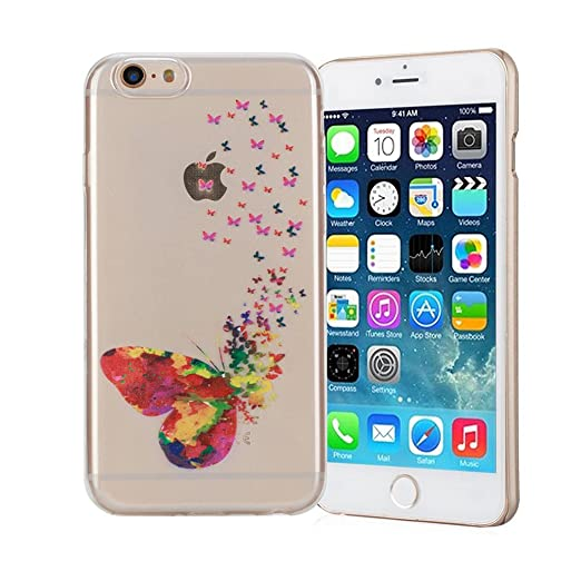 51 opinioni per Cover iPhone 6/6S Silingsan Cover in Silicone TPU per iPhone 6/6S Custodia