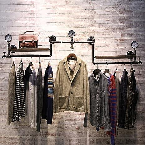 Shelves AA Mensola a Muro Perchero Tienda de Ropa Percha ...