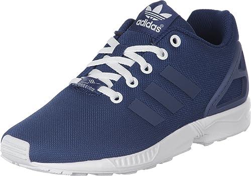 3640bd1260186 adidas ZX Flux K W Shoes Blue Ink White  Amazon.co.uk  Shoes   Bags