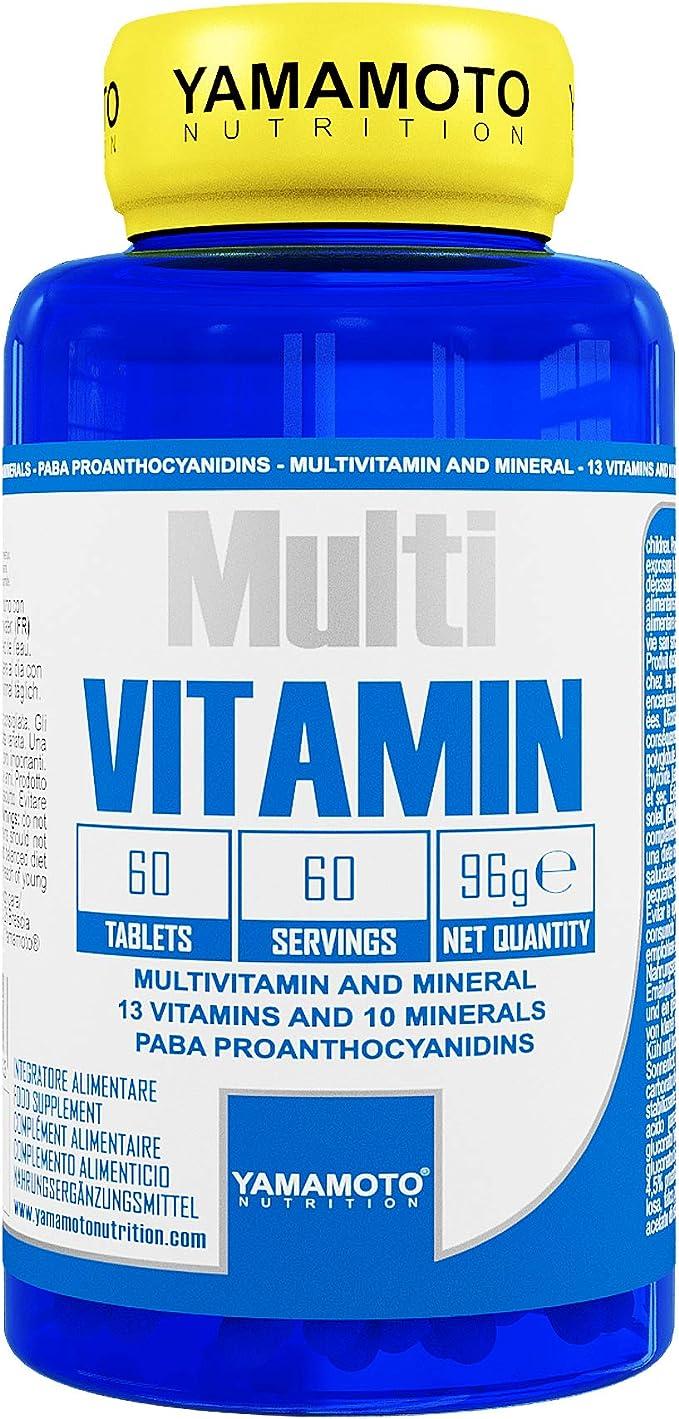 Yamamoto Nutrition Multi Vitamin - 60 Tabletas