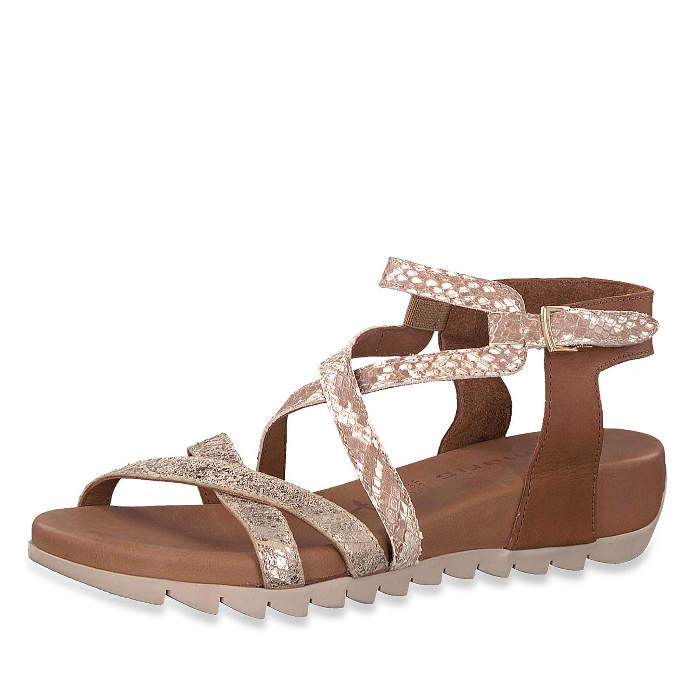 Tamaris Ladies Sandal 1-28708-20-392 Cognac Marron