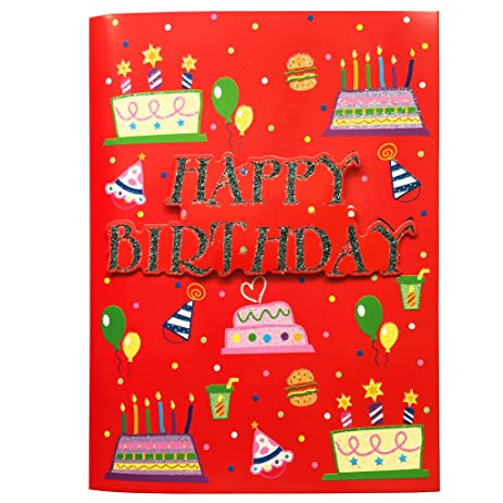 Amazon unique birthday card music birthday cards interactive unique birthday card music birthday cards interactive birthday greeting card with happy birthday to m4hsunfo