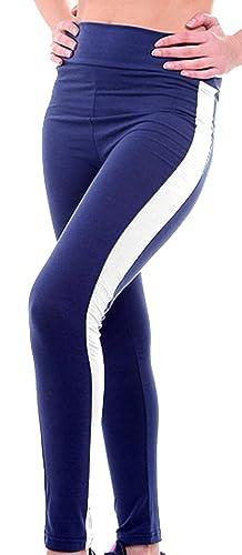 U-shot Pantalones Para Mujer Cintura alta Stretch Tights Fitness Running Sports Leggings Caual Panta...