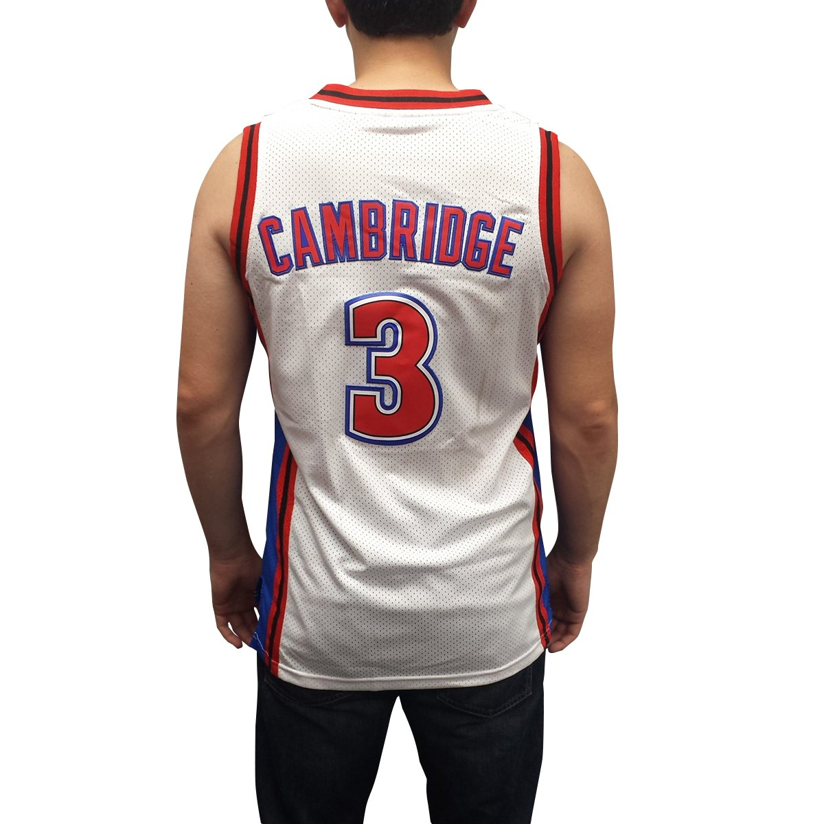 Amazon.com: Calvin Cambridge #3 LA Knights White Basketball Jersey Like Mike Lil Bow Wow: Clothing