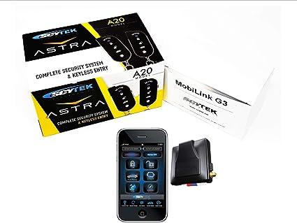 Scytek Astra A20 Vehicle Security with Keyless Entry