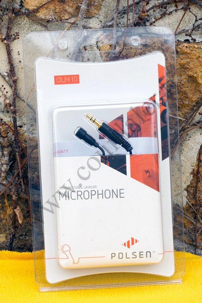 Polsen OLM-10 Omnidirectional Lavalier Microphone OLM10