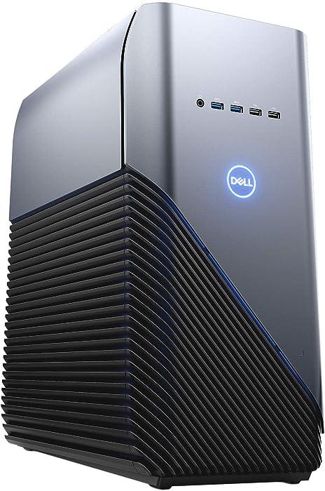 Newest Dell Inspiron 5680 Gaming Desktop | Intel Core i5-9400 6 Core | 8GB DDR4 | 256GB SSD+1TB HDD | NVIDIA GeForce GTX 1660 Ti 6GB GDDR6 | Windows 10 Home