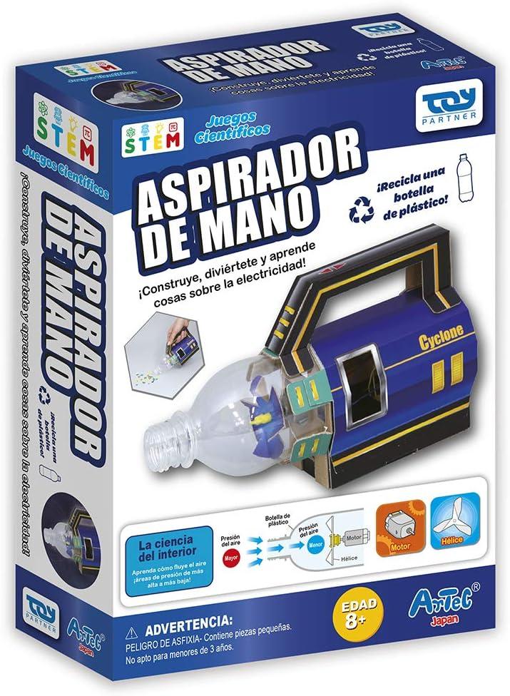 Toy Partner- Artec CREA tu aspiradora, Color Azul (95060): Amazon.es: Juguetes y juegos