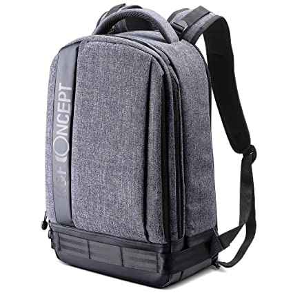 cc54d279d7 K F Concept Lightweight DSLR Camera Backpack Water Resistant Nylon  Multipurpose Bag for Canon Nikon Fuji and