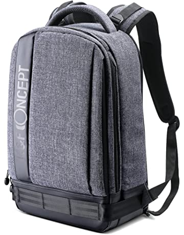 d5a9430cdcc3 K F Concept Lightweight DSLR Camera Backpack Water Resistant Nylon  Multipurpose Bag for Canon Nikon Fuji and