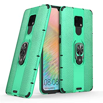FAWUMAN Funda para Huawei Mate 20 X Soft TPU + Duro PC Doble ...