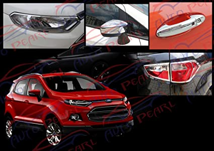 Premium Quality Chrome Plated Accessories For Ford Ecosport Set Of  Pcs