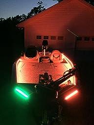 Amazon Com Boat Bow Led Lighting Red Amp Green Kit