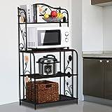 Amazon Com Beautiful Kitchen Microwave Shelf W Outlet