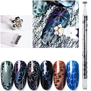 Amazon.com: dolloress belleza de uñas belleza Uña ⭐ doble ...