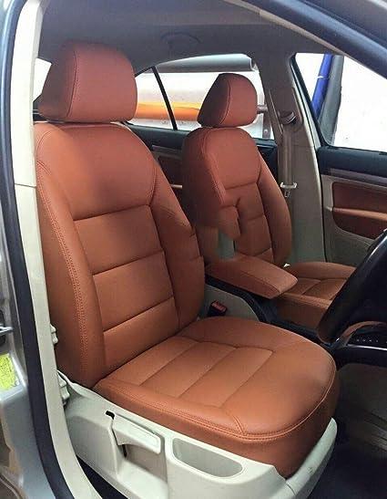 Groovy Musicar Scorpio Orange Leatherite Car Seat Cover With Creativecarmelina Interior Chair Design Creativecarmelinacom