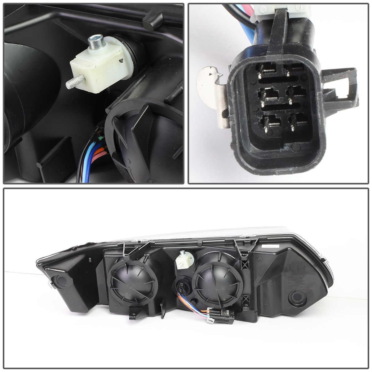 DNA MOTORING HL-OH-084-CH-AM Toyota Camry Headlight Assembly Driver And Passenger Side