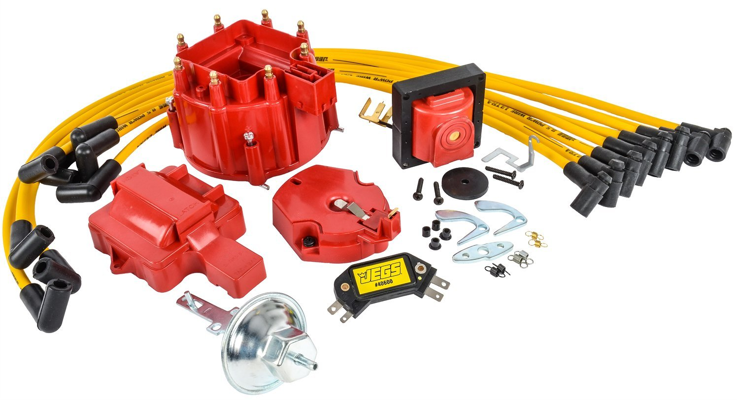 JEGS 40009K1 High-Performance HEI Ignition Tune-Up Kit by JEGS