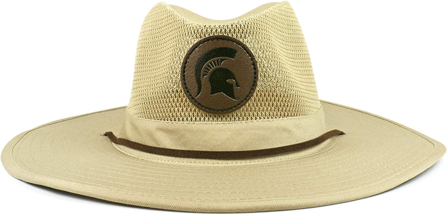 Officially Licensed Cowbucker NCAA Unisex NCAA Outback Straw Hat
