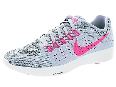 3074c000fa81 Nike Women s Lunartempo Titanium Pow Black White Running Shoe 7.5 Women US