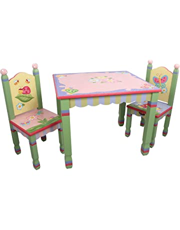 64cc62526ac0 Fantasy Fields - Collection Wooden Table and 2 Chairs Set