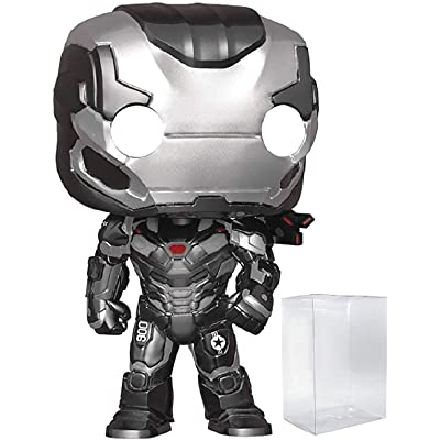 Marvel: Avengers Endgame - War Machine Funko Pop! Vinyl Figure (Includes Compatible Pop Box Protector Case): Toys & Games