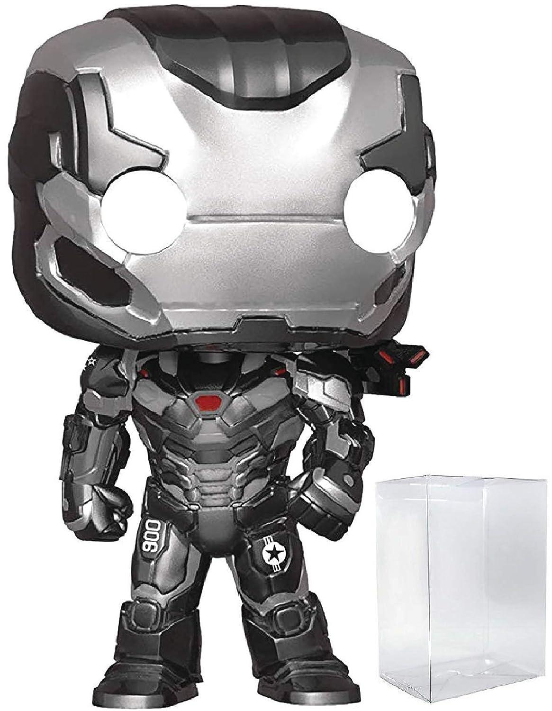 War Machine Funko Pop Includes Compatible Pop Box Protector Case Vinyl Figure Marvel: Avengers Endgame