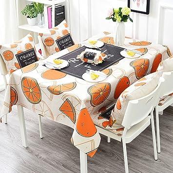 Tischdecke Leinen Tischdecke Couchtisch Decke Stoff Frucht Esstisch