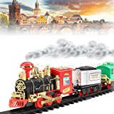 Funnytool High Speed Battery Operated Train Set for Kids (Chocho)