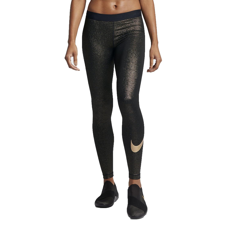 5cae57b4bb5bb Amazon.com: NIKE Womens Metallic Dri-Fit Leggings: Clothing