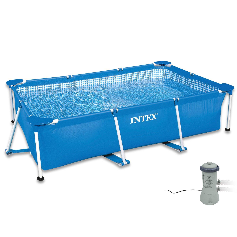 Intex 300 x 200 x 75 cm Frame Pool Set Family con sistema de ...