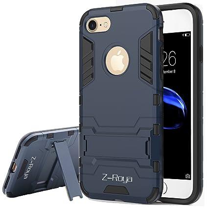 Amazon.com: IPhone 7 Case,Z-Roya [Robot-Bear] Dual Layer ...