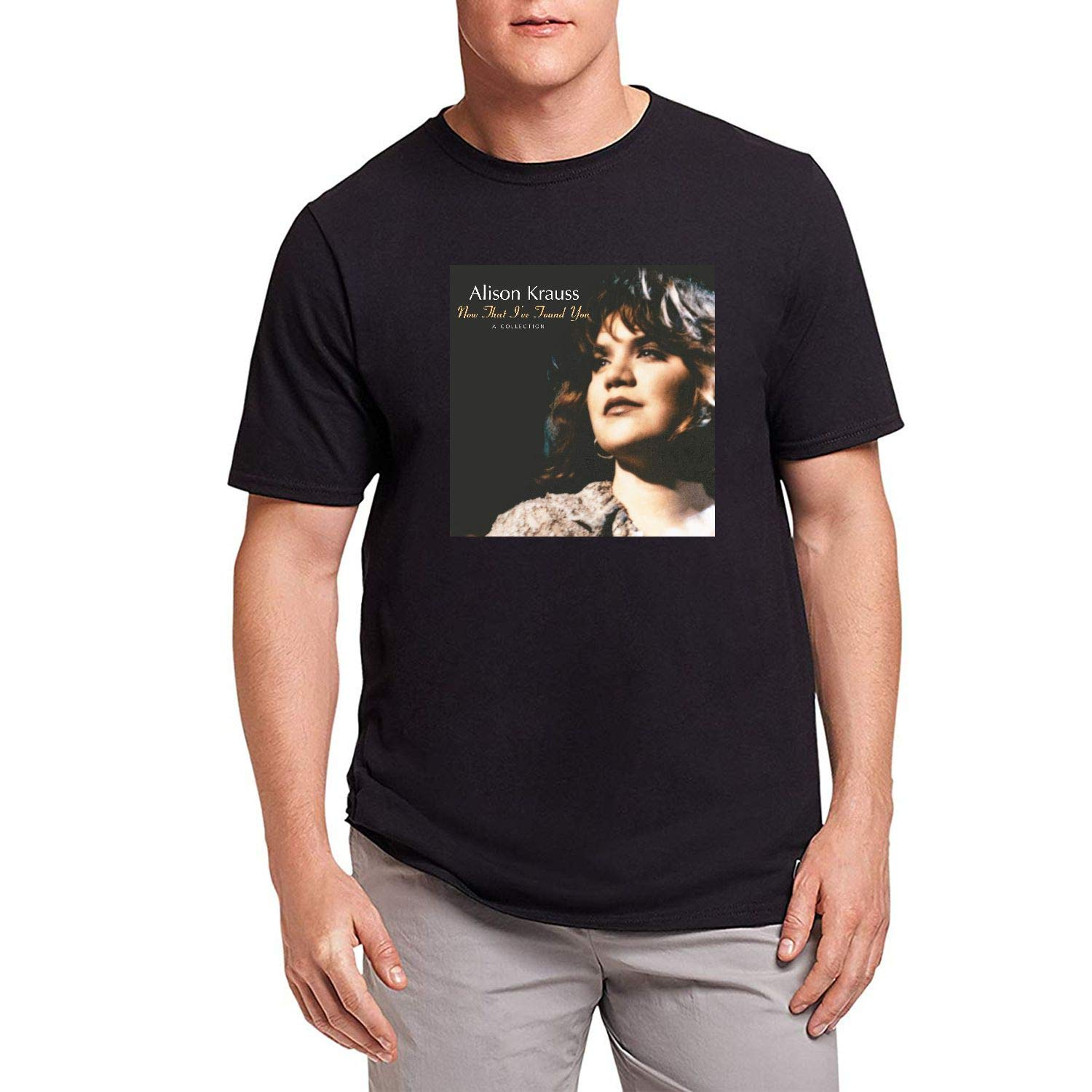 Houcome S Alison Krauss When You Say Nothing At All Short Sleeve Tshirt
